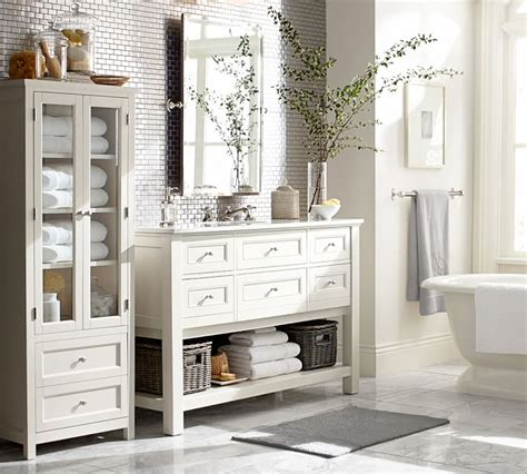 Pottery Barn Bathroom by Create A Guest Bathroom Stylechicago