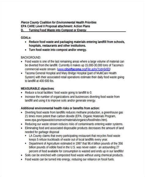 restaurant business proposal templates  samples