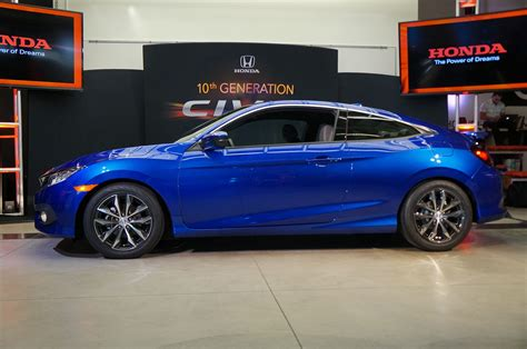 honda civic 2 door 7 things you didn t about the 2016 honda civic coupe