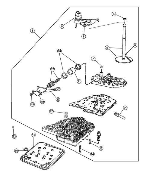 6r140 Transmission Wiring Diagram by 48re Valve Diagram Wiring Diagram