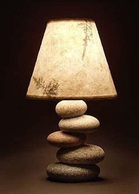 balance rock lamp  mainerockguy  etsy