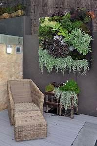 17 meilleures idees a propos de mur vegetal sur pinterest With ordinary decoration mur exterieur jardin 4 creer un mur vegetal en interieur