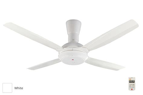 kdk 56 4 blades ceiling fan with remote k14x5 white