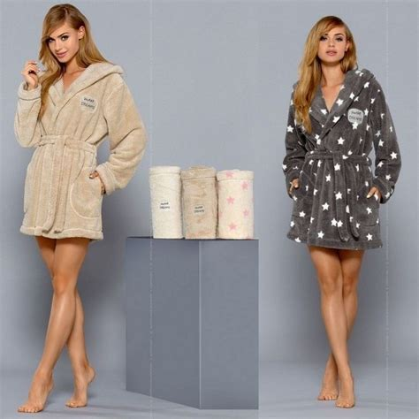 robe de chambre courte femme les 25 meilleures idées de la catégorie peignoir polaire