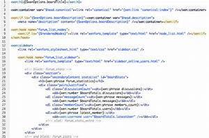 styling reference xenforo With template for blogger html code