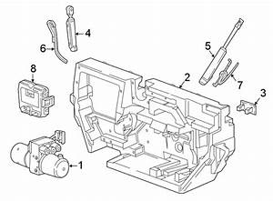 Chevrolet Camaro Convertible Top Hydraulic Pump Bracket