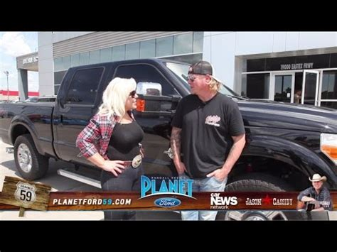 Jason Cassidy F250 Test Drive at Planet Ford 59   Humble