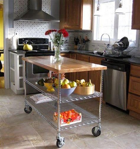 diy kitchen island cart 25 utility carts in interior designs messagenote 6846