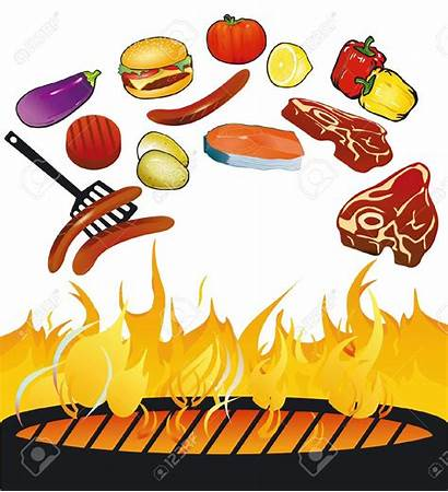 Bbq Clipart Grill Cookout Vector Grilled Meats