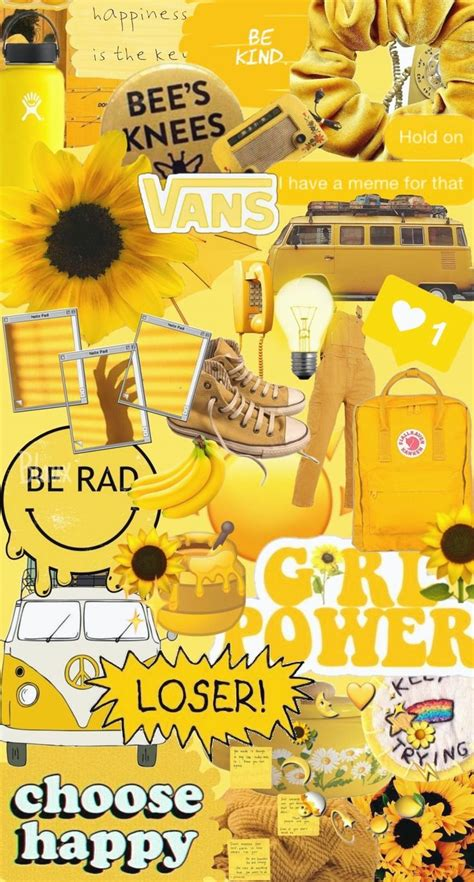 pin by caroline on yellow aesthetics in 2020 iphone