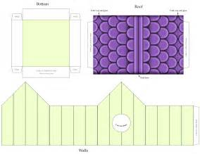Free Printable Paper House Template