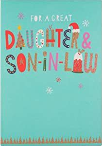 Hallmark Medium Daughter and Son in Law Special Christmas
