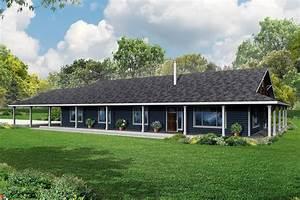 Front Porch Plans Ranch House