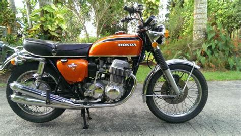 buy vintage 1972 honda cb750k2 four excellent on 2040 motos
