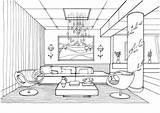 Coloring Room Living Pages Interior Fireflies Adult Printable Supercoloring Awesome Von Games Books Categories Gemerkt Zimmer sketch template