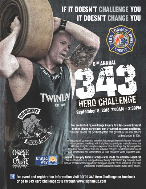 6th Annual 343 Hero Challenge - Firefighter Cancer Support ...