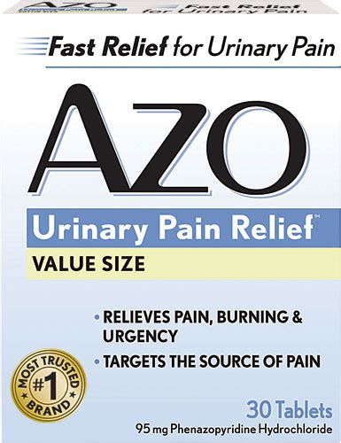 66153 Azo Urinary Relief Coupon by I Health Azo Standard 174 Urinary Relief 30 Tablets