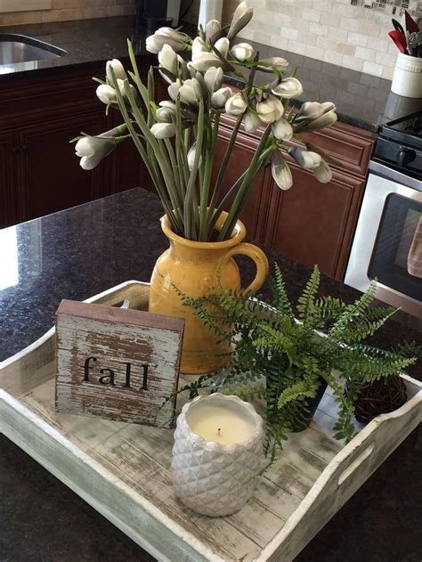 decorate kitchen island this decor idea for a kitchen island or peninsula