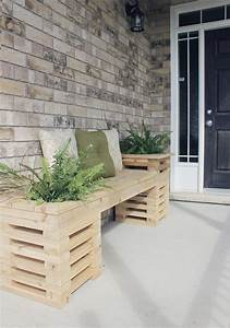 27, Best, Diy, Outdoor, Bench, Ideas, And, Designs, For, 2021