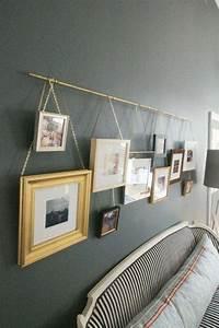 Ideen Fotos Aufhängen : fotowand zu hause gestalten tipps und 25 kreative ideen innendesign wandverkleidung zenideen ~ Yasmunasinghe.com Haus und Dekorationen