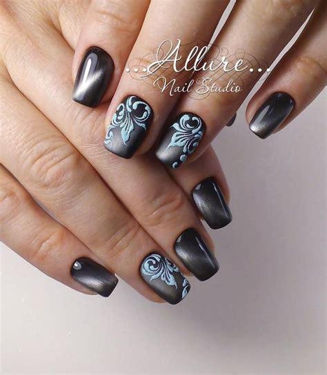 35 nail designs ideas design trends 35 silver nail designs ideas for true Unique
