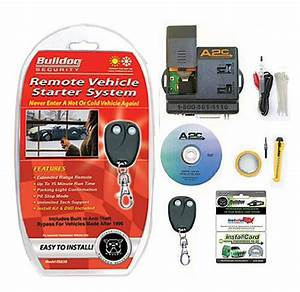 Bulldog Security Rs83b Remote Starter With Built