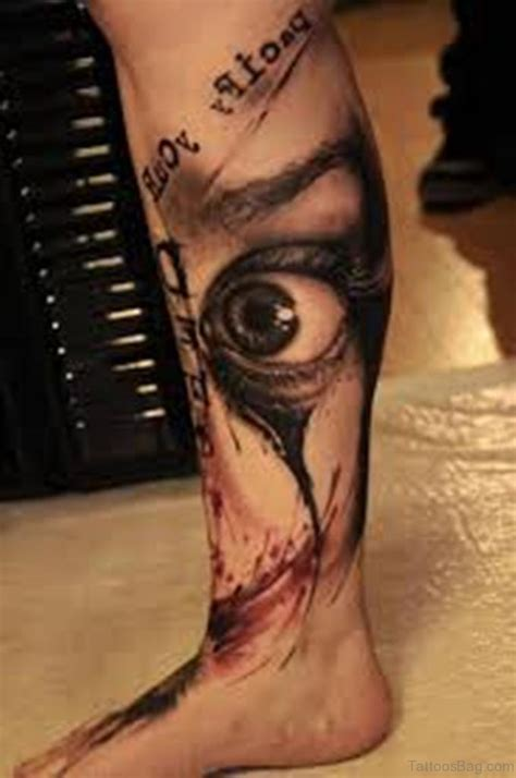 Eye Tattoo Clock