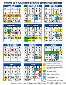 Coral Springs Student Central - 2006 - 2007 school calendar