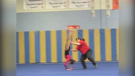 hilarious gymnastics fails celebrate  games funnycom