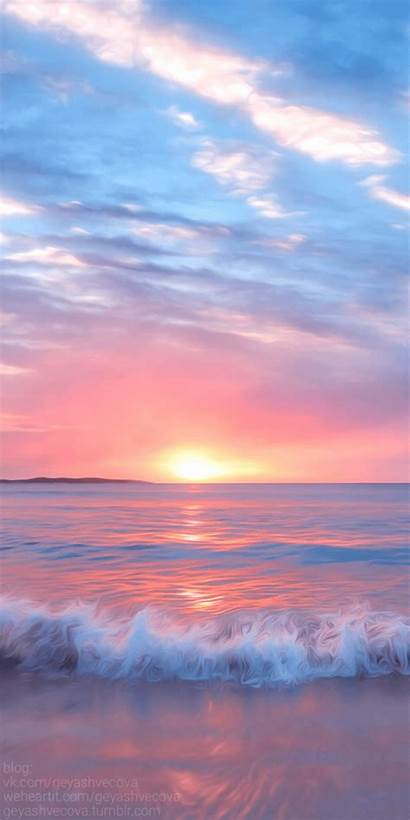 Sunrise Aesthetic Wallpapers Sunset Colorful Backgrounds Clouds