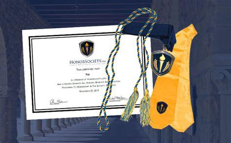 honorsocietyorg honor cords tassels honor society