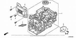 Honda Hrx217 Hma Lawn Mower  Usa  Vin  Maga