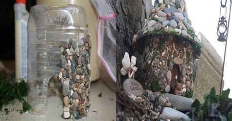 diy miniature stone fairy house usefuldiycom