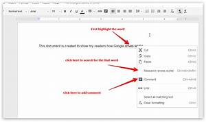 8 things every teachers should be able to do with google With google docs add highlight