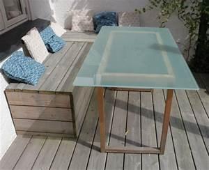 Gartentisch Selber Bauen : gartentisch mit glasplatte selber bauen nachhaltigkeitsblock ~ Lizthompson.info Haus und Dekorationen