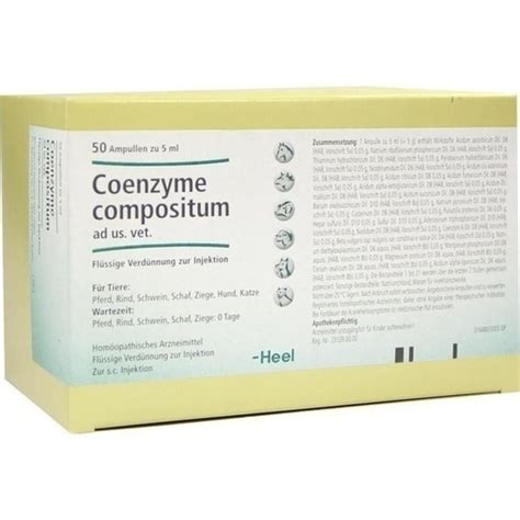 Coenzyme Compositum Katze