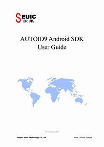 Autoid9 Android Sdk User Guide