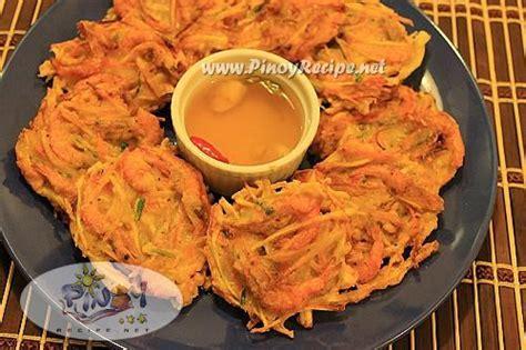 serve it bowl ukoy na kalabasa recipe recipes portal