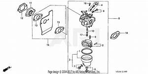 Lawn Mower Carburetor Diagram