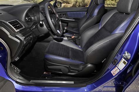 wrx sti interior pict 2015 subaru wrx sti test motor trend