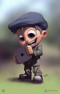 3D Cartoon Character Boy