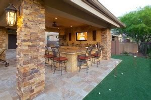 backyard putting green phoenix landscaping design pool