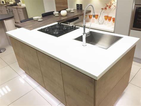 kitchen island ideas with sink modern kitchen island with hob sink and breakfast bar