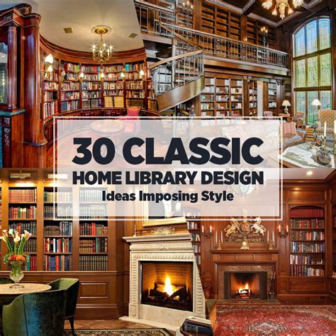 home library interior design 30 classic home library design ideas imposing style