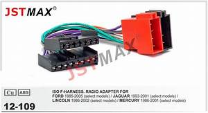 Jstmax Iso Cable Car Radio Stereo Adapter Radio Plug For