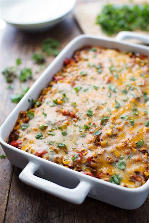 healthy casseroles healthy mexican casserole