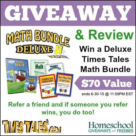 Times Tales Math Bundle Deluxe Giveaway And Review! Ends 6