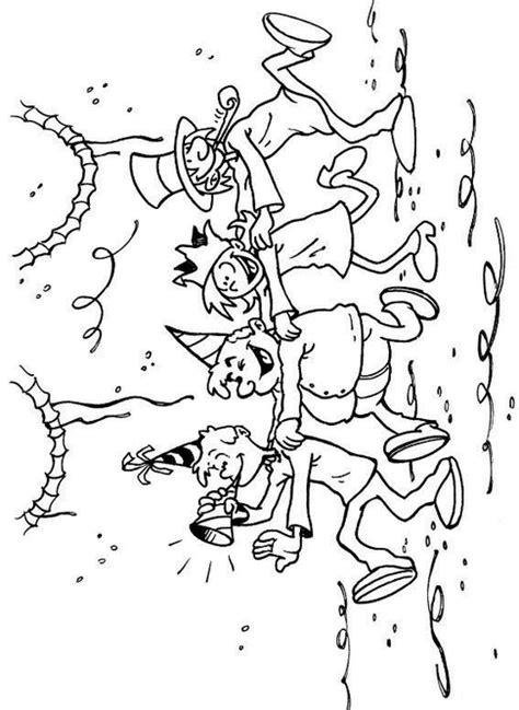 Kleurplaat Polonaise by Knutselcategorie Kleuren Carnaval Polonaise