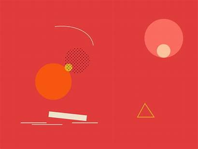 Shapes Dribbble Motion Graphics Abstract Animated Animation