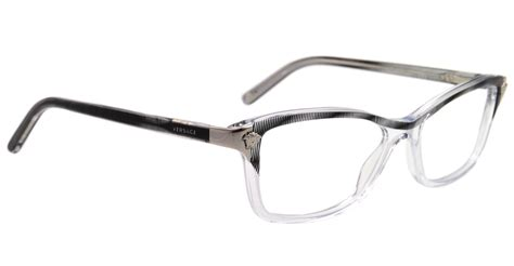 New Versace Eyeglasses Ve 3156 Clear 933 51mm Ve3156